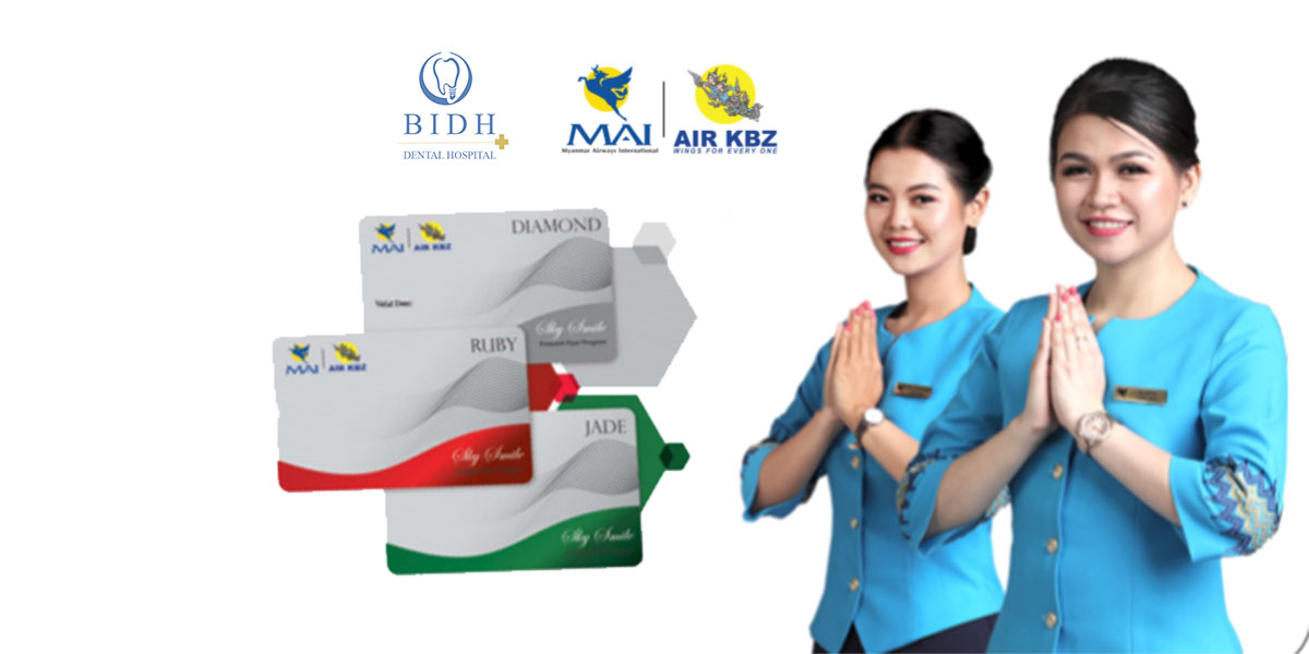 MAI & Air KBZ- BIDH Dental Hospital